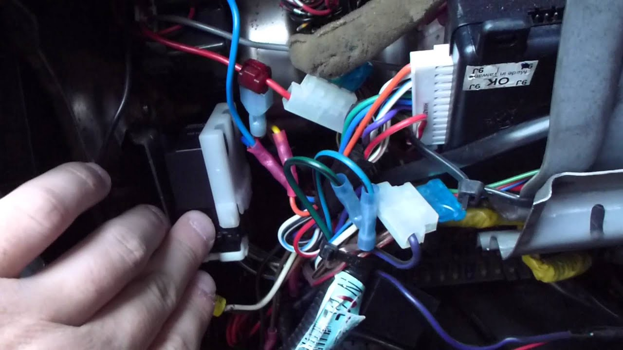 99 00 Honda Civic DX Horn fuse relay broken
