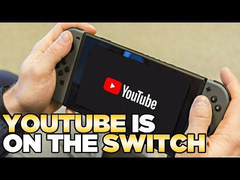 Youtube is Now Out for the Nintendo Switch | Austin John Plays