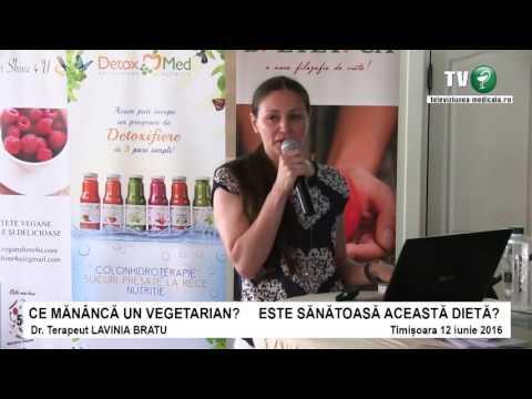 Ce mananca un vegetarian? Meniu saptamanal recomandat de dr. Lavinia Bratu