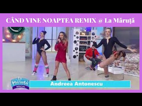 Andreea Antonescu - Când vine noaptea | Cristi Stanciu & Marc Rayen remix