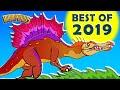 Spinosaurus, Terror Bird and More! Best Dinosaur Songs and Cartoons of 2019 from Howdytoons
