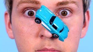 Car Glued To Nose!