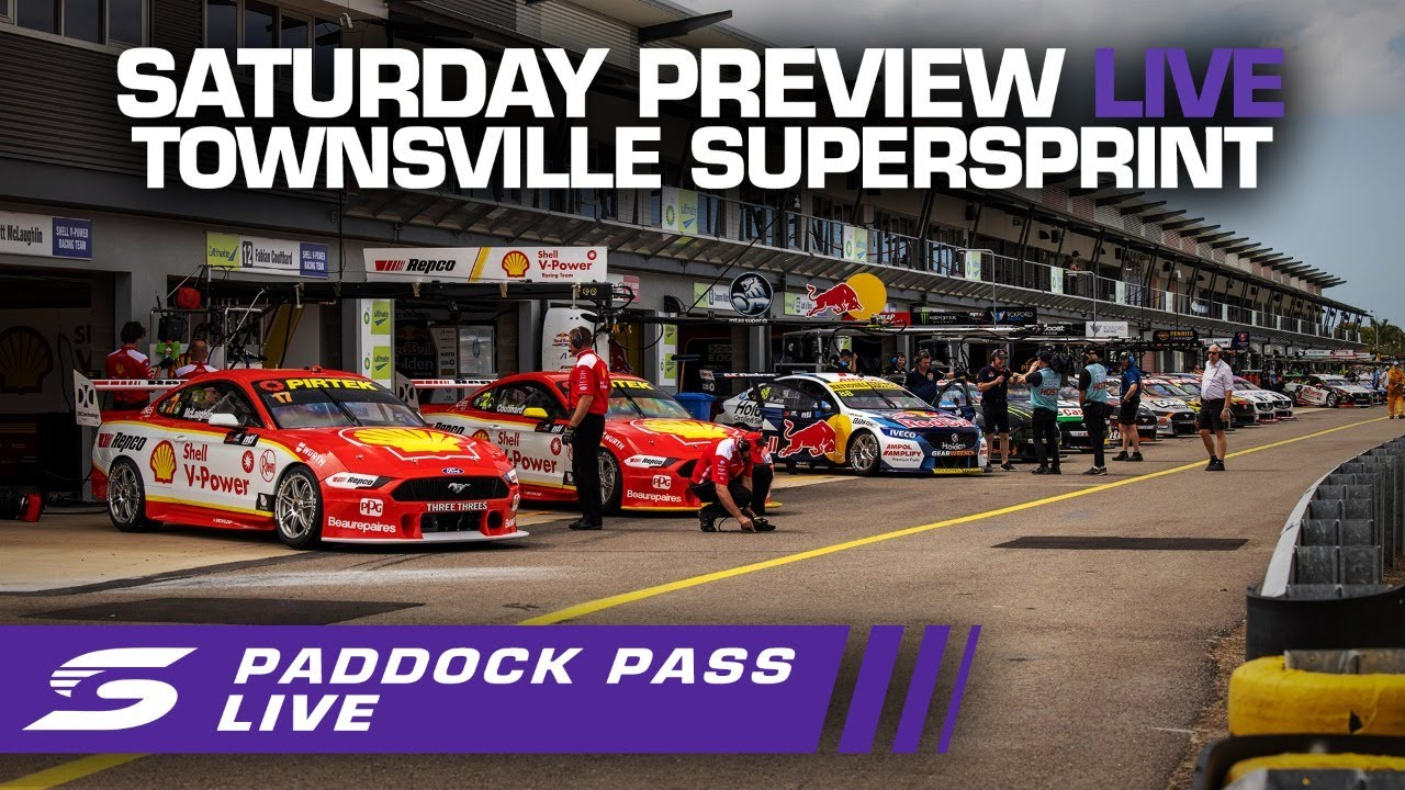 Saturday Repco Paddock Pass PREVIEW LIVE - Townsville SuperSprint   Supercars 2020