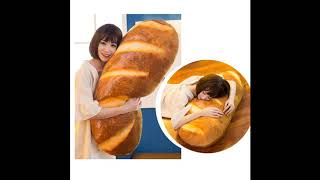 Gecter Funny 3D Simulation Bread Shape Pillow