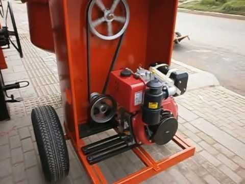 Mezcladora para concreto Con reductor de polea thumbnail
