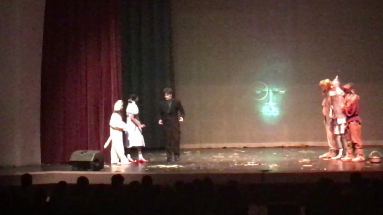 Wizard Of Oz Man Behind Curtain Scene