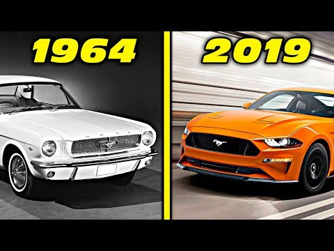 Ford Mustang History / Evolution (1964 - 2019) [4K]