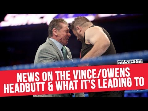 Backstage News On The Vince/Owens Headbutt & What It's Leading To Next