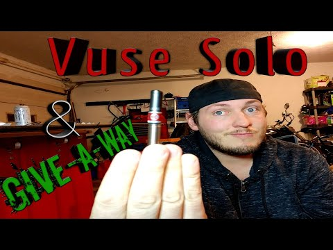 Vuse Solo & Give-a-way