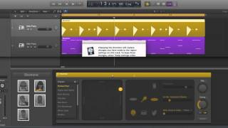 Logic Pro X Electronic Drummer tracks tutorial 6/10
