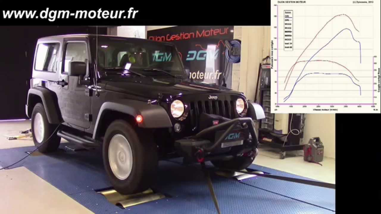 reprogrammation jeep wrangler 2 8l crd 200ch dijon gestion moteur youtube. Black Bedroom Furniture Sets. Home Design Ideas