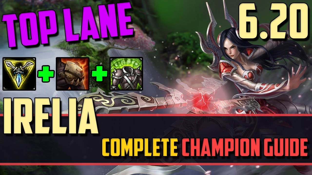 Irelia: My Blade is at Your Service - League of Legends ...  Irelia: My Blad...