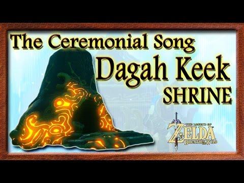 Dagah Keek Shrine (Zora Domain Hidden Shrine)(The Ceremonial Song)