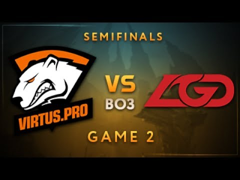 Virtus.pro vs LGD Gaming Game 2 - Dota Summit 7: Semifinals