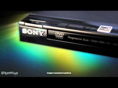 Submarino.com.br l DVD Player c/ MP3 - DVP SR200P - Sony