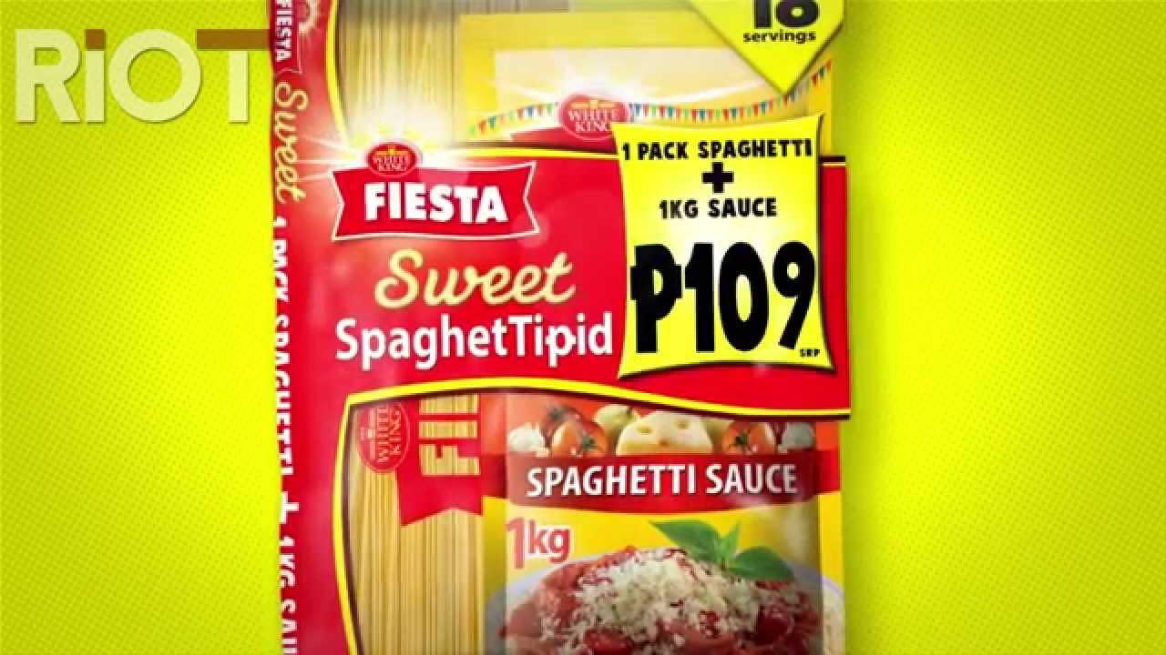 Fiesta Spaghetti Sauce Proj Tipid 15s