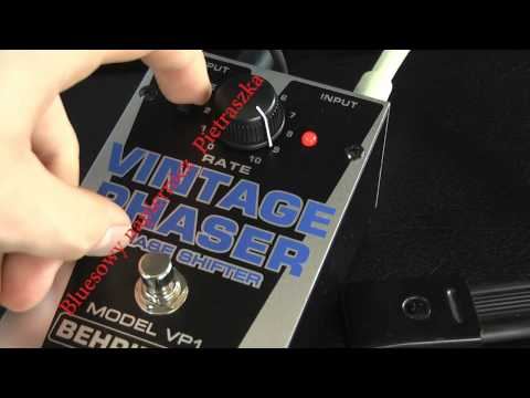Behringer Vintage Phaser VP1 Test Review - Rockday Pietraszek