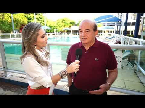 Entrevista com o comodoro do Iate Clube de Teresina, Gilson Vasconcelos