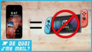 Si vous ne trouvez pas de Switch, c'est à cause de l'iPhone 8  - DQJMM (1/2)