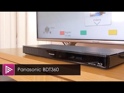 Panasonic DMP BDT360EB Blu Ray Player Review