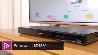 Panasonic DMP BDT360EB Blu ray Player Review