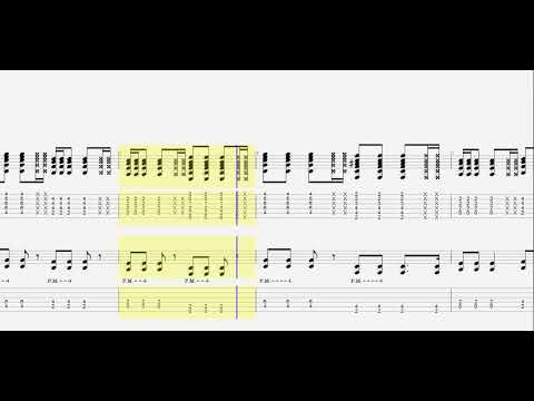 Back Number クリスマスソング ギター タブ譜 Guitar Tab Youtube