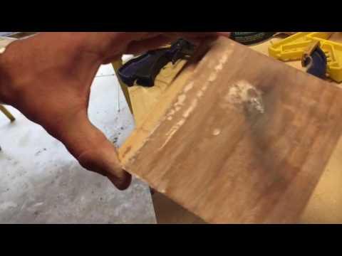 Putting an Epoxy finish on wood