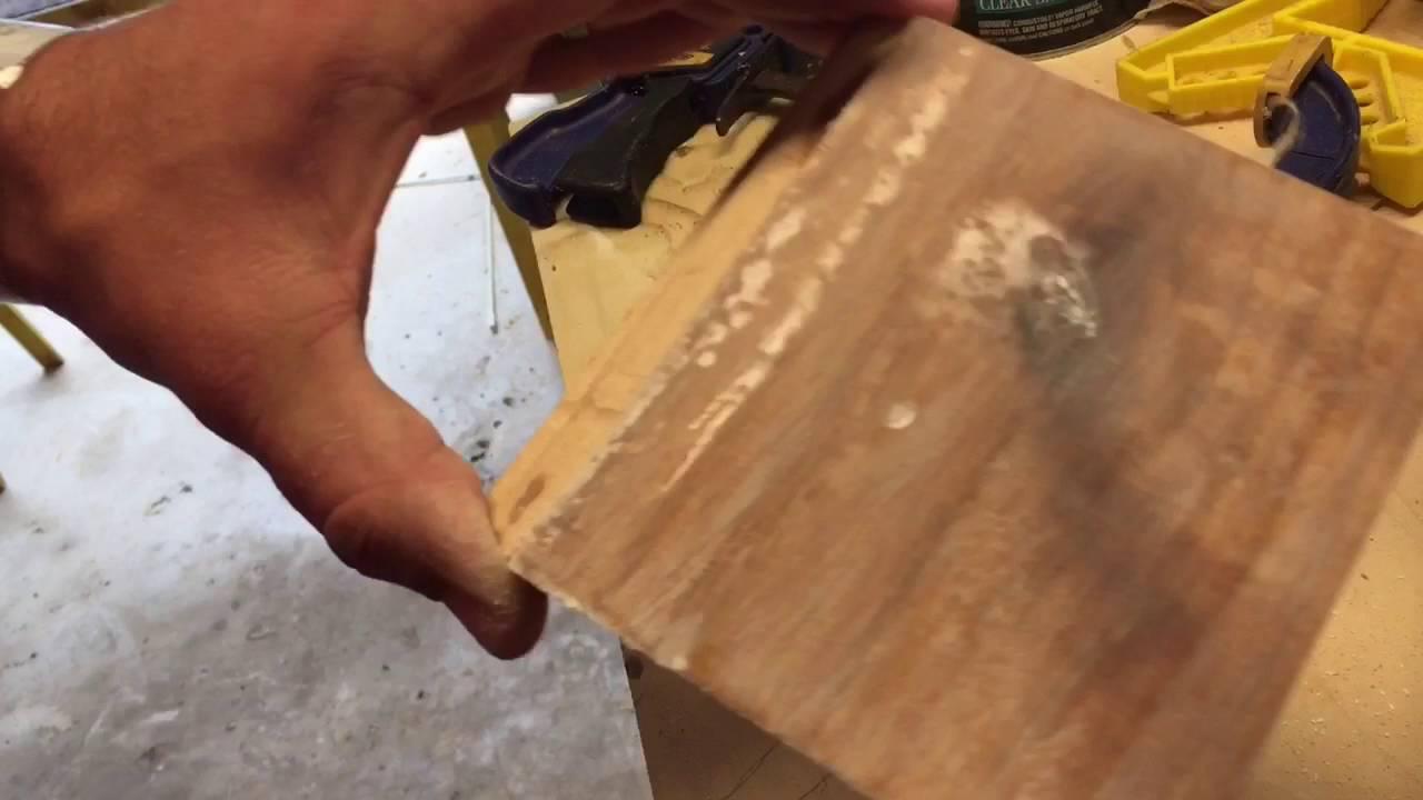 Putting An Epoxy Finish On Wood Youtube