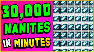 HOW TO MAKE 30,000 NANITES IN 10 MINUTES! | No Man's Sky Guide (Triple Duplication Glitch?)