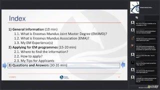 Tips for applying for Erasmus Mundus Joint Master Degrees (EMJMD)