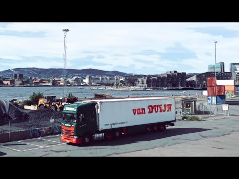 From 🇳🇴 Oslo to 🇫🇷 Boulogne-Sur-Mer. Norway Trucking. Scania S500