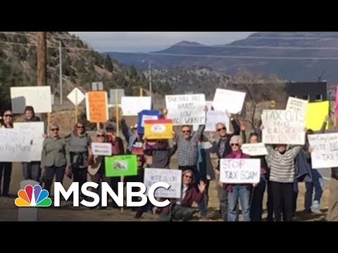 Facing Widespread Protest GOP Pushes Tax Bill In Party-Line Vote | Rachel Maddow | MSNBC