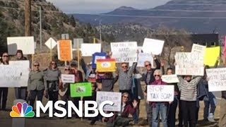 Facing Widespread Protest GOP Pushes Tax Bill In Party-Line Vote   Rachel Maddow   MSNBC
