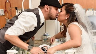 Parents Get Married In NICU To Include Preemie Baby In Ceremony thumbnail