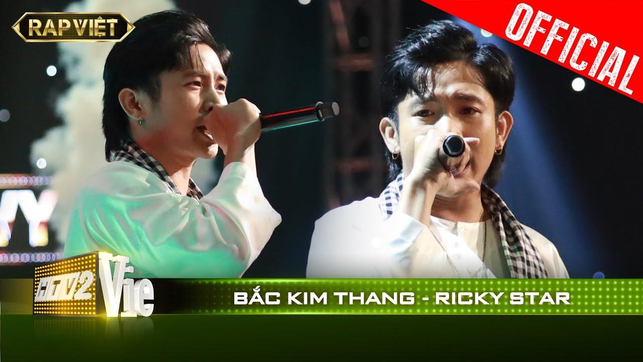 Rùng mình với HIT Bắc Kim Thang quá độc đỉnh của Ricky Star | RAP VIỆT [Live Stage]