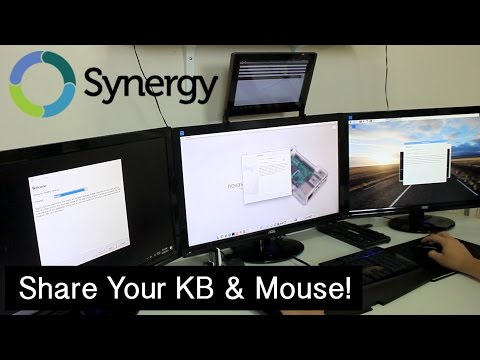 How to Share your Keyboard And Mouse With Synergy