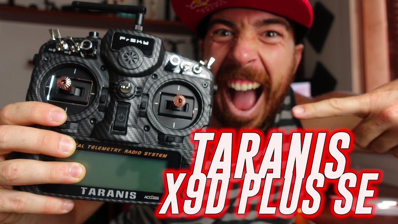 La MEJOR EMISORA para FPV!!! (Y cómo escogerla) TARANIS X9D PLUS SE 2019