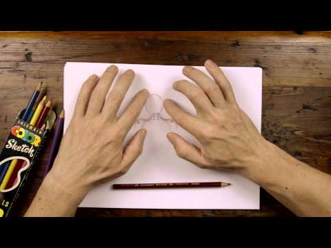 ASMR Visualization Massage - Drawing on Paper & Whispering