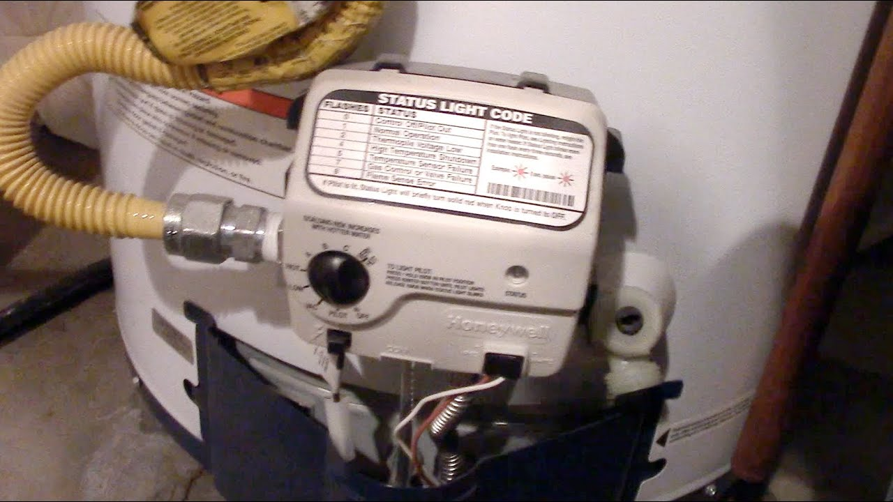 Nice How To Light A HONEYWELL Water Heater Pilot