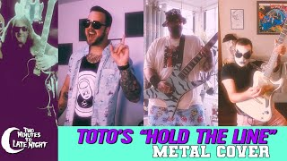 """Toto's """"Hold The Line"""" Metal Cover"""