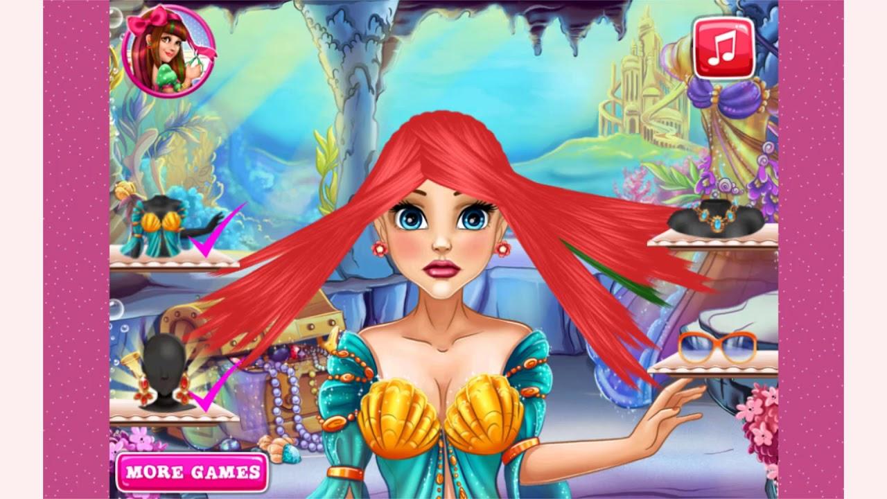 Mermaid Princess Real Haircuts