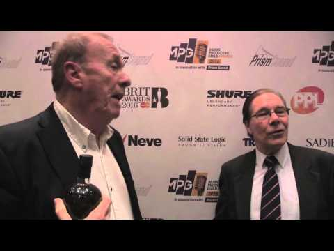 Geoff Emerick interview - MPG Awards 2016 (with Dave Harries)