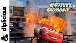 Moteurs Action!  Stunt Show Spectacular Disneyland Paris Summer 2018