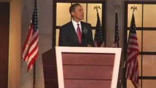 Barack Obama Acceptance Speech オバマ氏 大統領候補指名受諾演説 2008.8.28