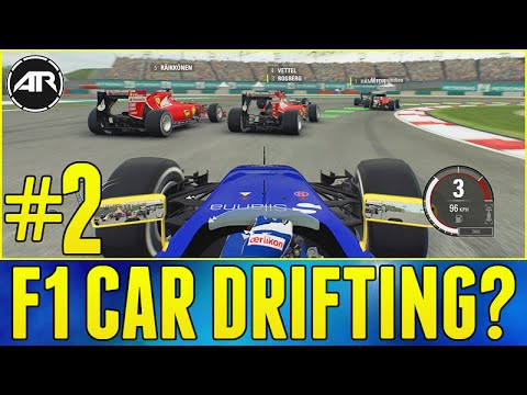 F1 2015 ONLINE CAREER : DRIFTING AN F1 CAR?!? (Race 2, Malaysia) w/ AR12 Crew