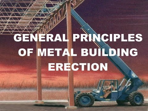 Metal Building Erection