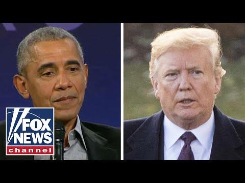 Obama takes thinly