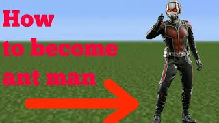 How to become antman|Minecraft PE