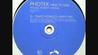 Photek - Mine To Give (David Maroles Mix)