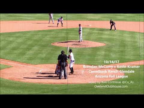 Brendan McCurry at Camelback Ranch 10/14/17